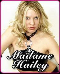 Femdom & Fetish Phonesex with Madame Hailey